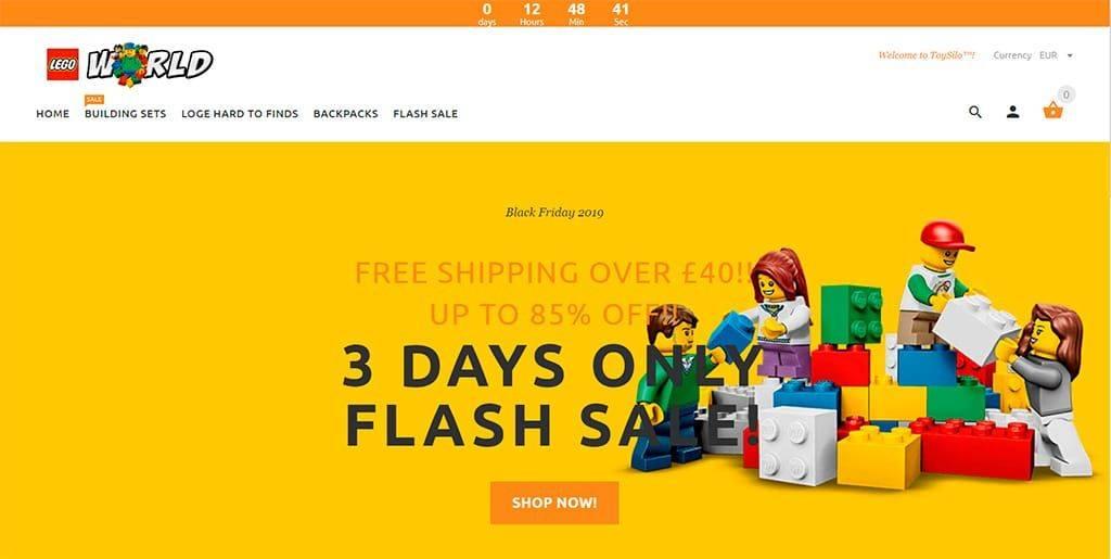 Caiyung.com Tienda Falsa Online Lego
