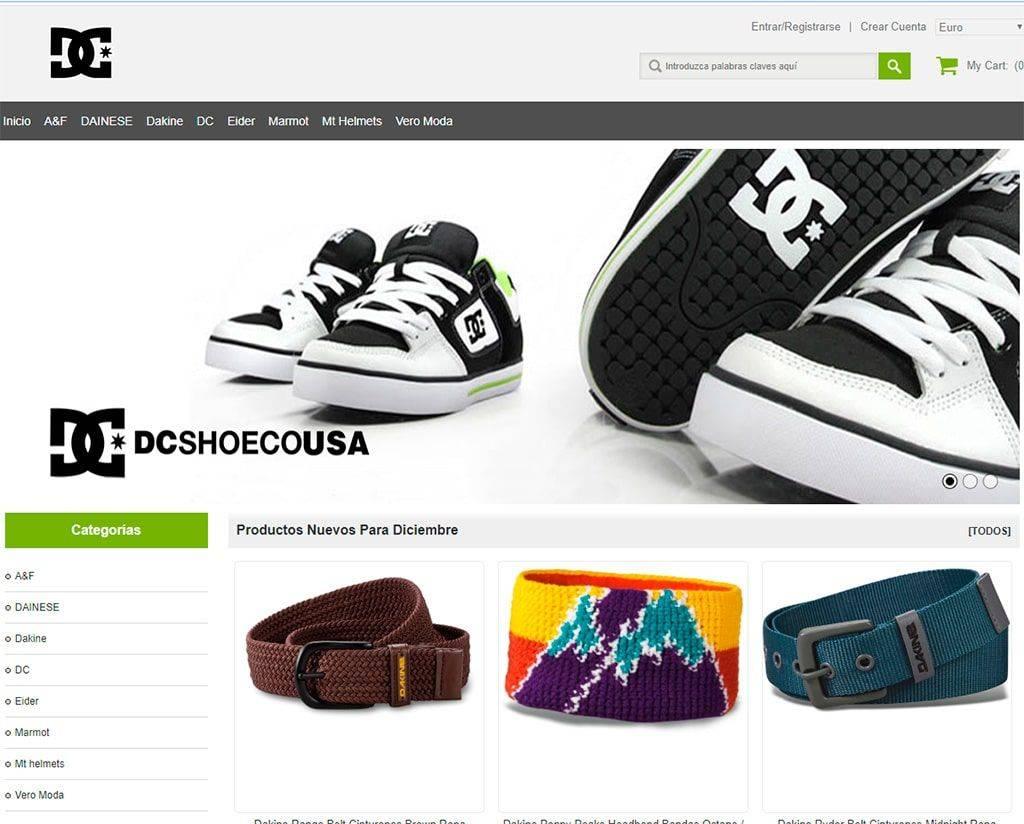 Institutogreenfield.com Tienda Online Falsa Dc