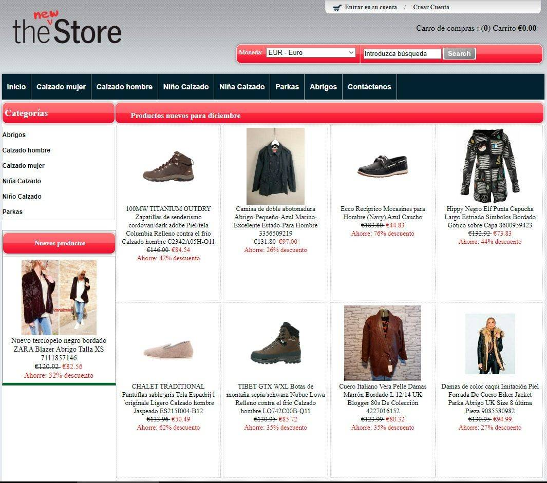 Naturcool.es Tienda Online Falsa Moda