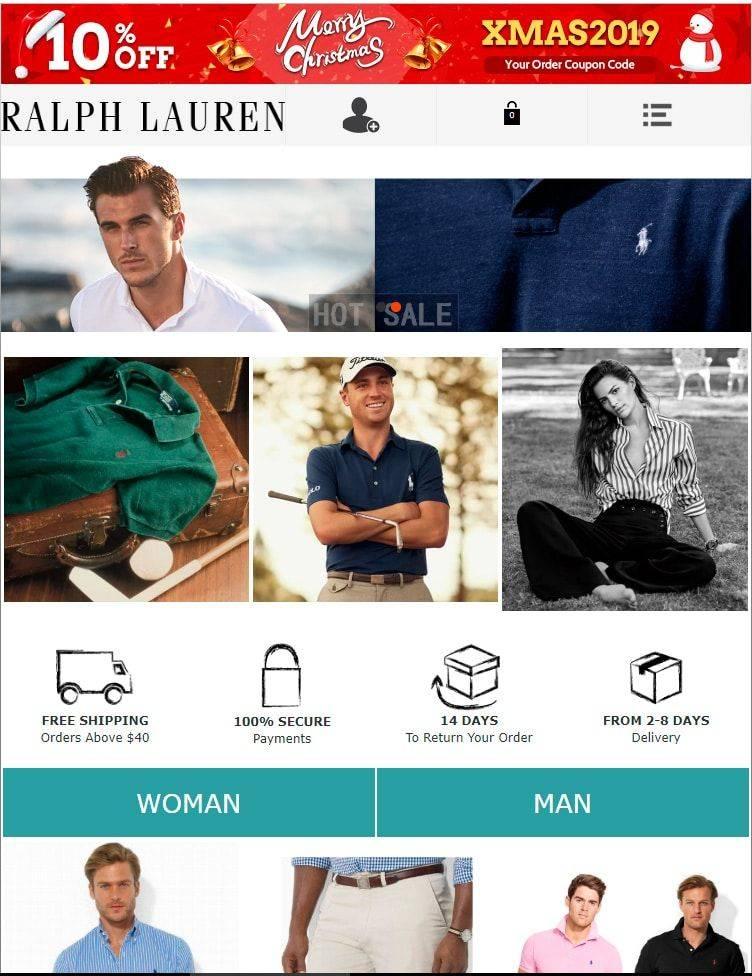 Pol.red Tienda Online Falsa Ralph Lauren