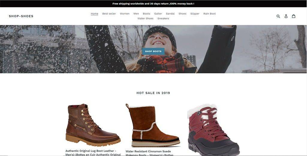 best website for boots