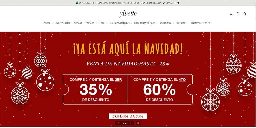 Yivette.com Tienda Online Falsa Moda