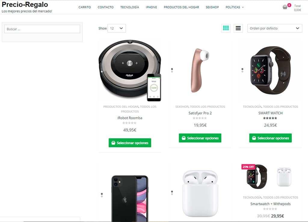 Beztecs.com Tienda Online Falsa Electronica