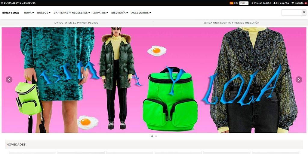 Bimbaybolsa.top Tienda Falsa Online Bimba Y Lola