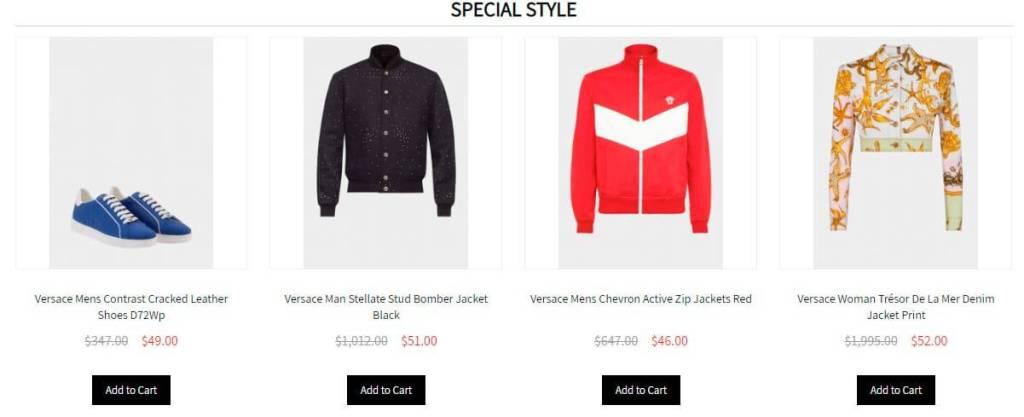 Classical Versace.com Tienda Online Falsa