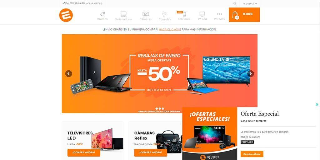 Electronicworld.es Tienda Online Falsa Electronica