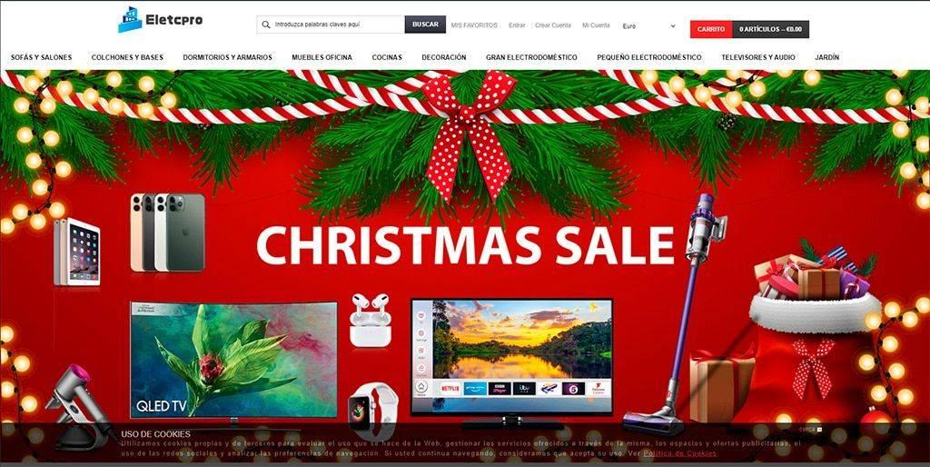 Eletcpro.com Tienda Online Falsa Electronica
