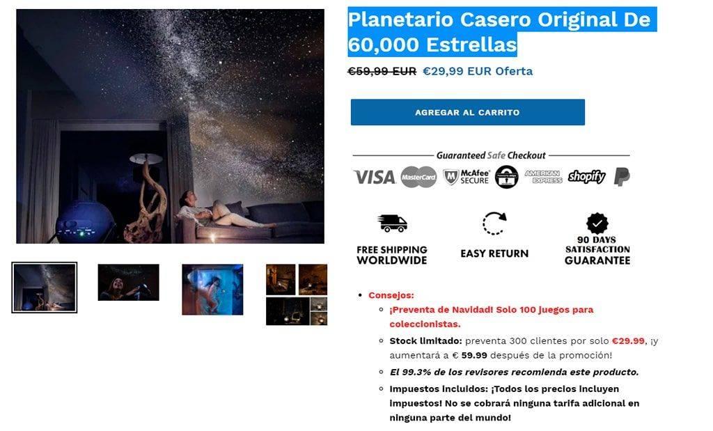 Evalpha.com Tienda Online Falsa