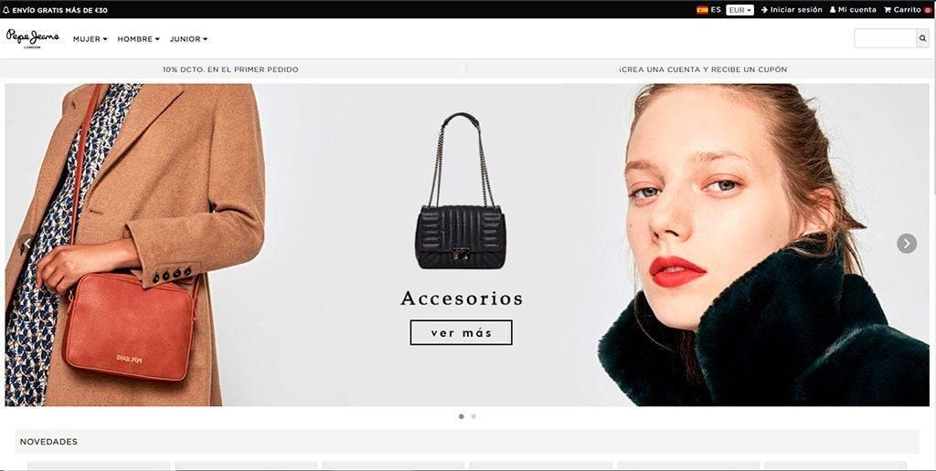 Pepejeansale.online Tienda Online Falsa Pepe Jeans