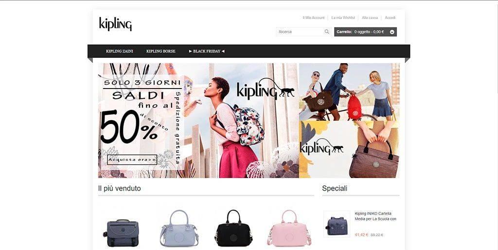 Vivaispinelli.it Tienda Online Falsa Kipling