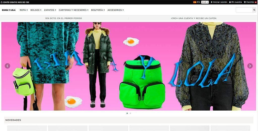 Bimbaylolanre.online Tienda Online Falsa Bimba Y Lola