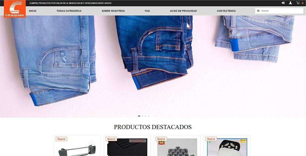 Cdrwxpsale.com Tienda Online Falsa Multiproducto