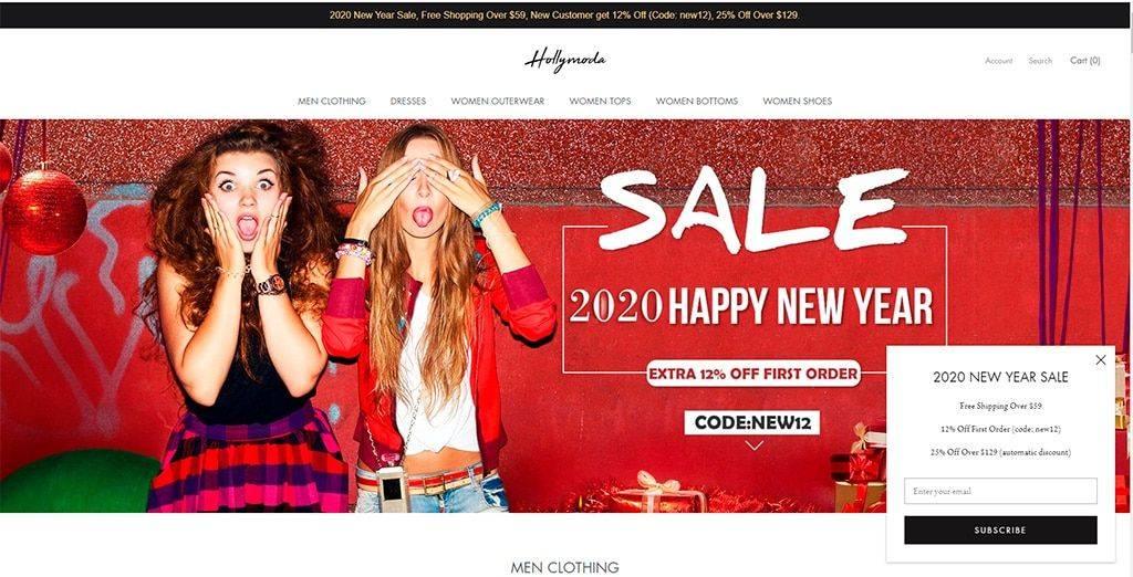 Hollymoda.com Tienda Online Falsa Moda Hombre Mujer
