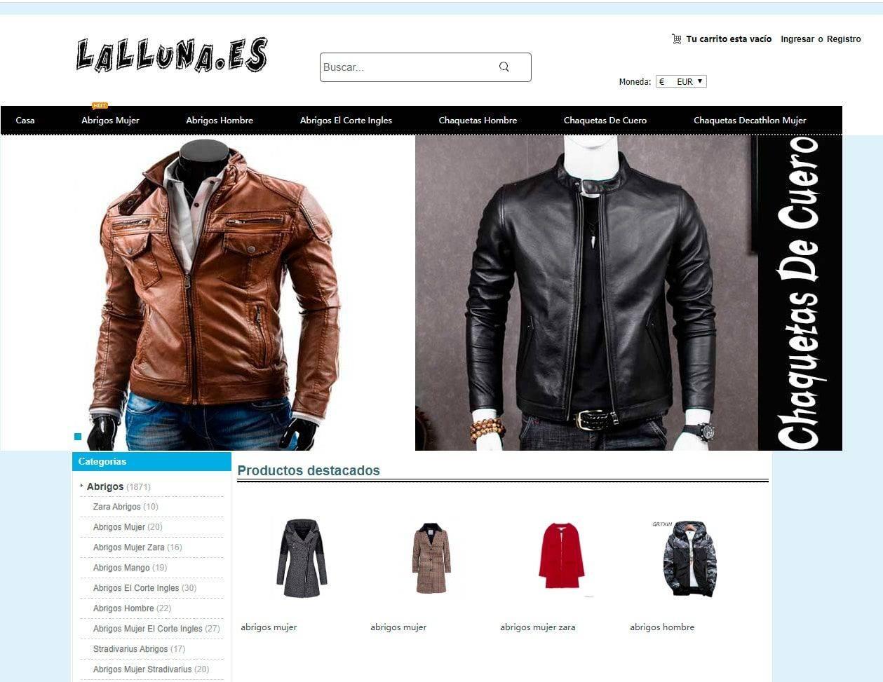 Lalluna.es Tienda Online Falsa Moda