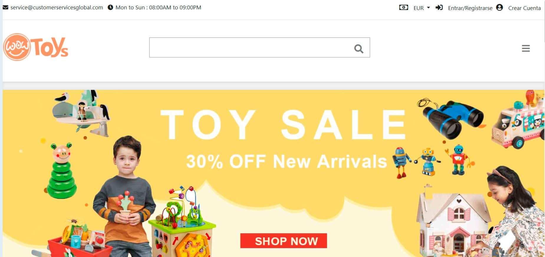 Navvrnd.com Tienda Online Falsa Juguetes