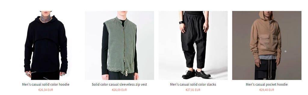 Simvine.com Tienda Online Falsa