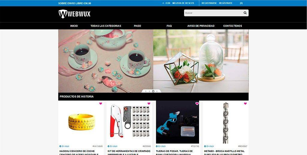 Webwuxmall.com Tienda Online Falsa Multiproducto