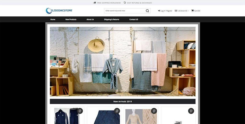 Zlzdzgwcstore.online Tienda Online Falsa Articulos Lujo