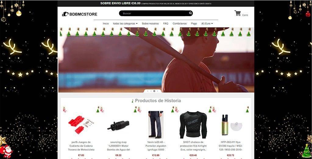 Bdbmcstore.com Tienda Online Falsa Multiproducto