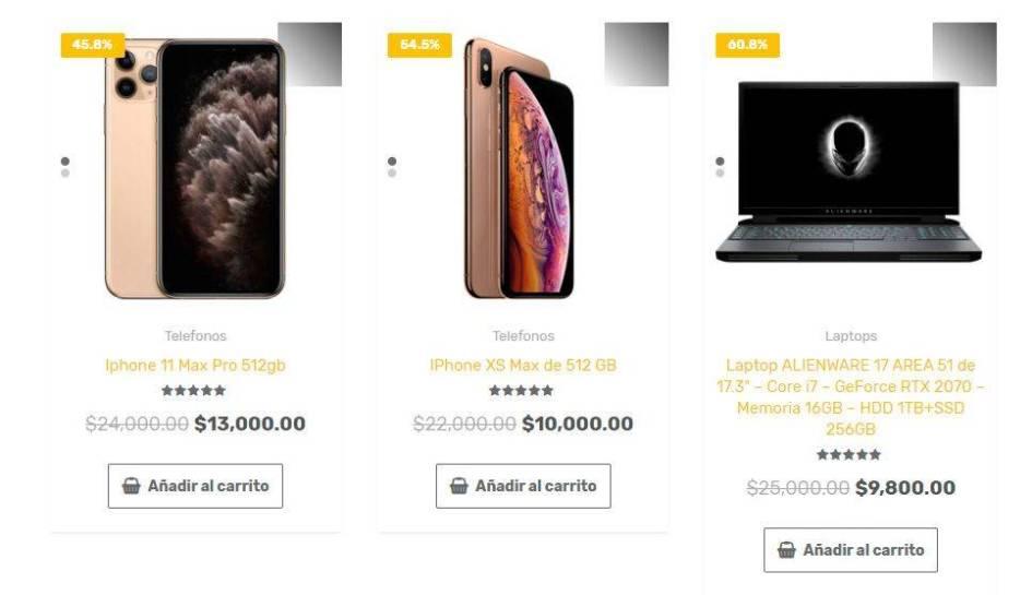 Electronicosytecnologias.com Tienda Online Falsa