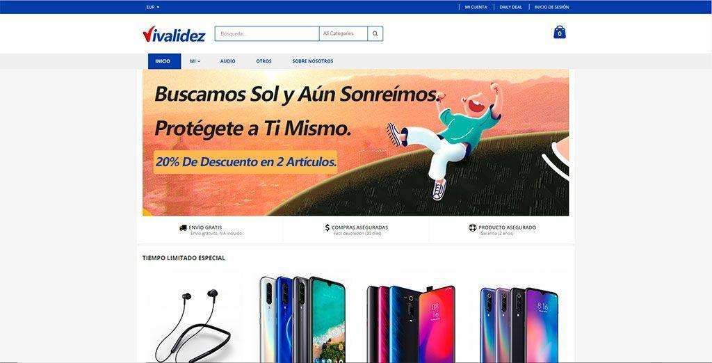 Ivalidez.com Tienda Online Falsa Tecnologia