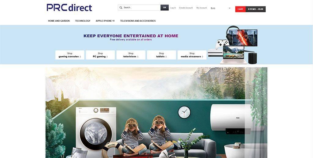 Prcdirect Mall.com Tienda Online Falsa Decoracion Tecnologia