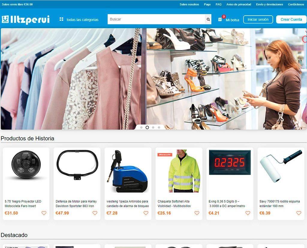 Iltzperui.com Tienda Online Falsa Multiproducto