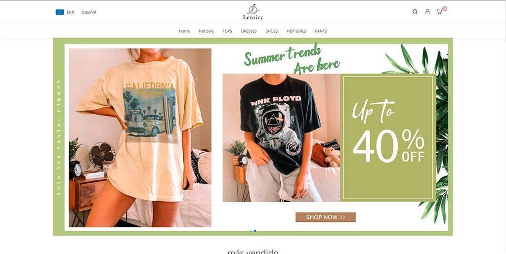 Lensivy.com Tienda Online Falsa Moda
