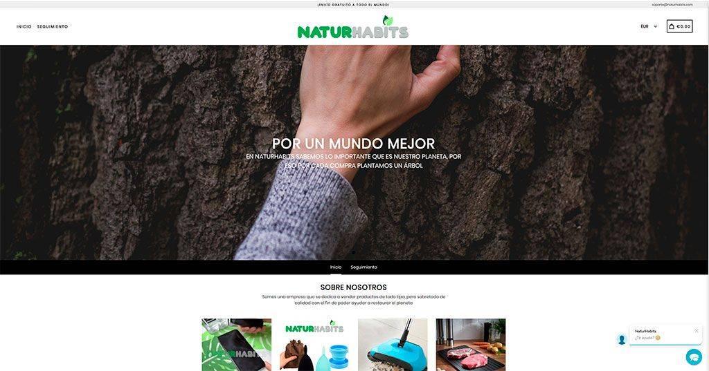 Naturhabits.com Tienda Online Falsa Multiproducto