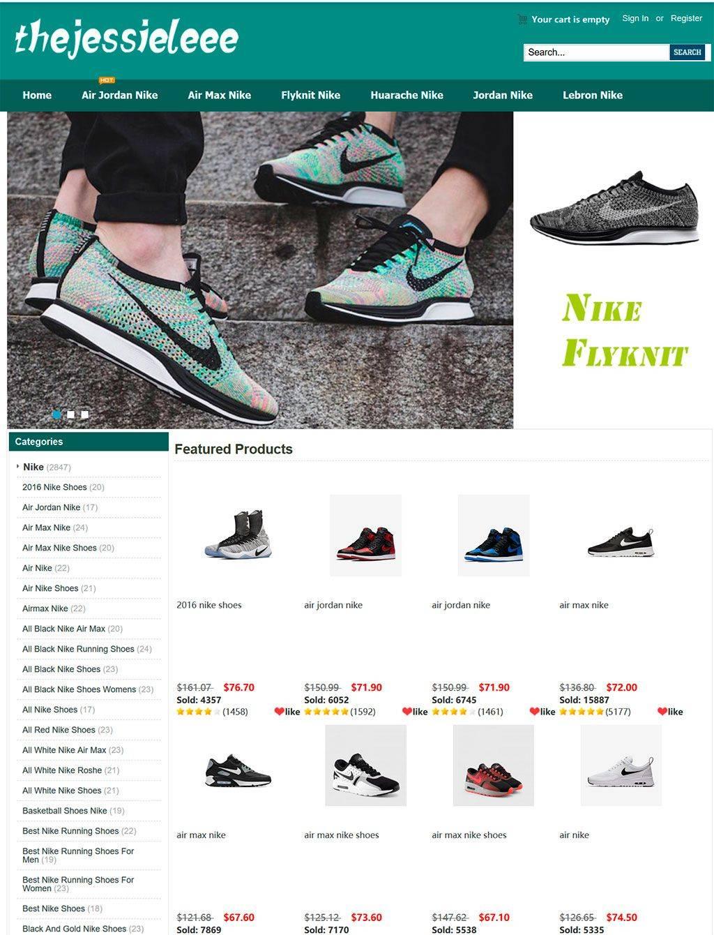Thejessieleee.com Tienda Online Falsa Zapatillas Nike