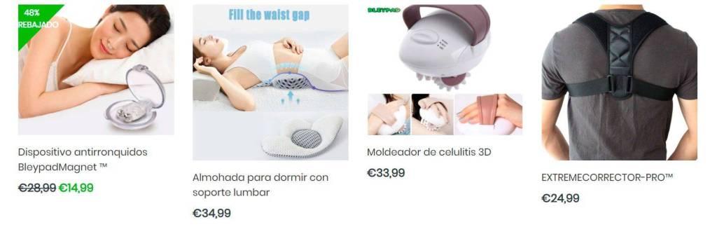 Bleypad.com Tienda Online Falsa