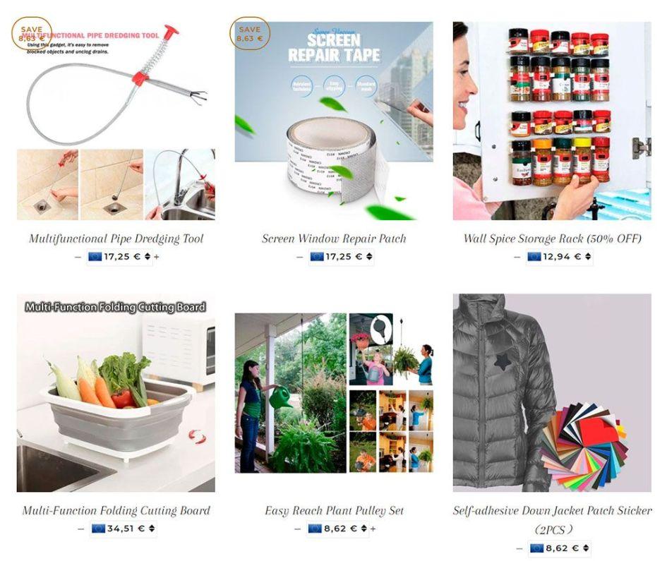 Cckoki.com Fake Multi Product Online Shop