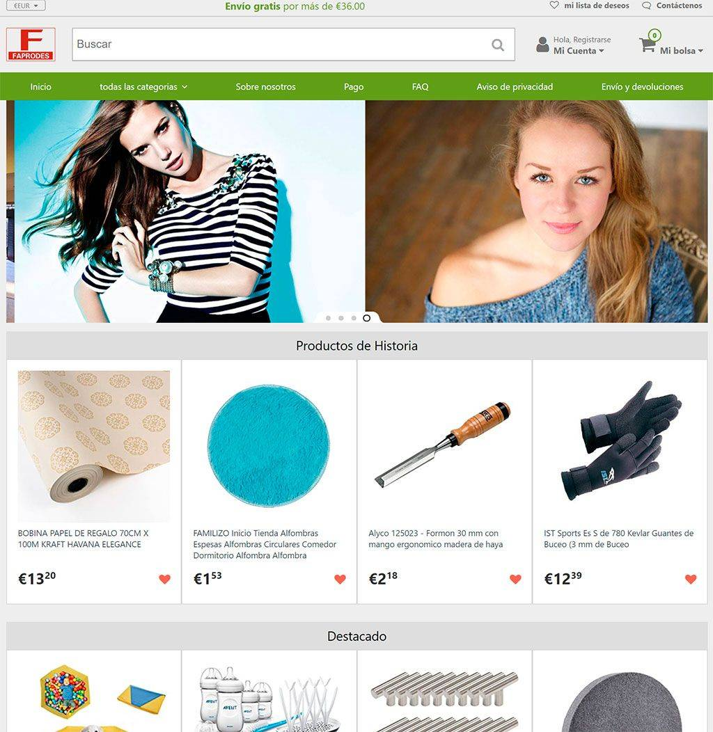 Faprodes.com Tienda Online Falsa Multiproducto
