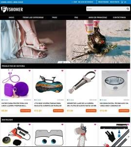 Fshomera.com Tienda Online Falsa Multiproducto
