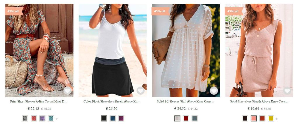 Narolook.com False Fashion Online Store