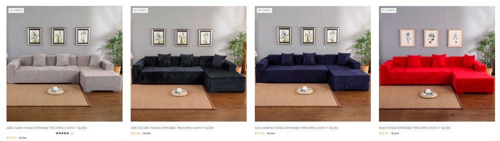 Magicfundas.com Online Shop Fake Sofa Covers