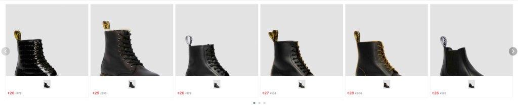 Martainsbootie.online Tienda Online Falsa