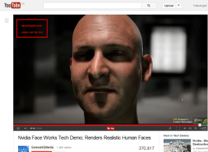 Nvidia Face Works Tech Demo  Renders Realistic Human Faces   YouTube