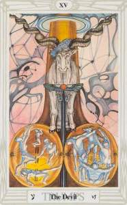 tarot_Thoth_Devil