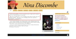 Nina Discombe   Author
