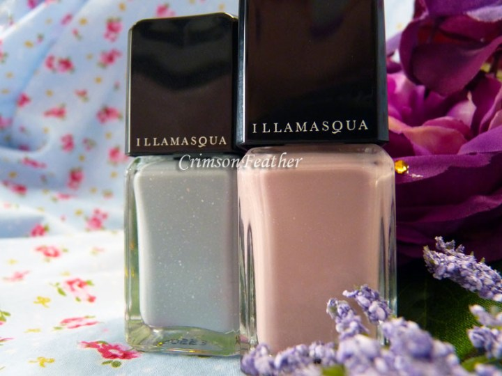 Illamasqua Raindrop Polish Review & Swatch – Pink and Grey
