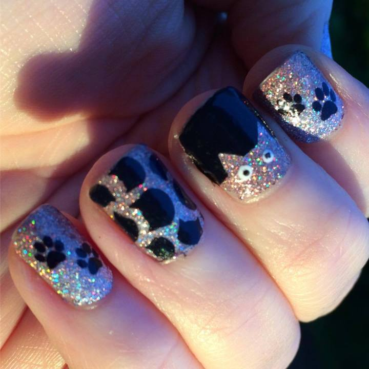 Manicure Monday – Meow means I love you