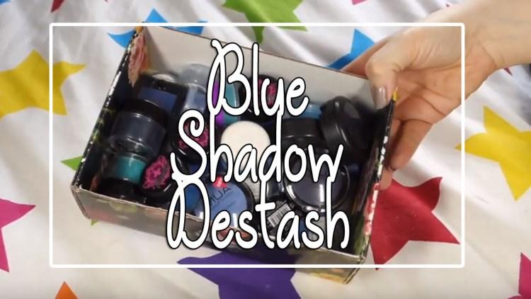 Blue Eyeshadow Destash