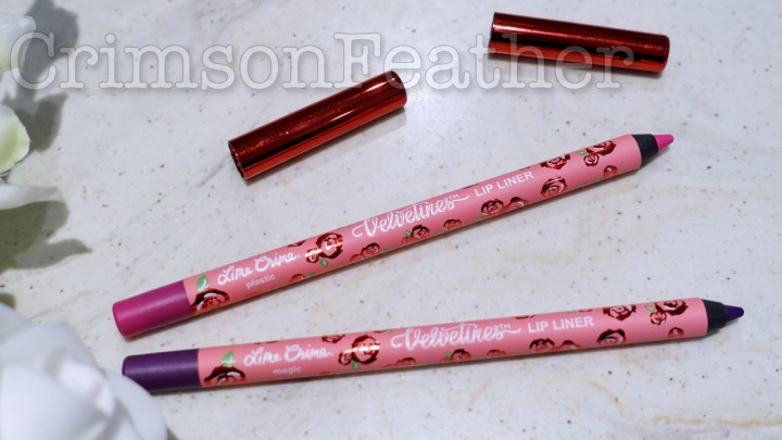 Lime Crime Velvetines Lip Liner Review & Swatch – Magic & Plastic