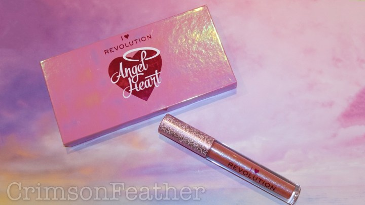 I Heart Revolution Angel Heart Palette & Lipgloss – Swatches and Review