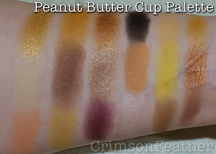 I-Heart-Revolution-Peanut-Butter-Cup-Palette-Swatch
