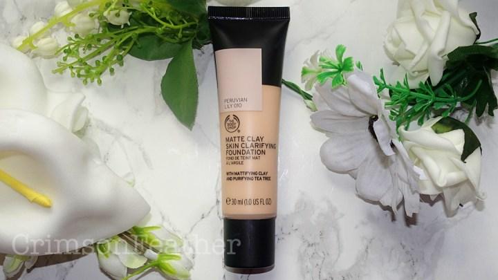 Body Shop Matte Clay Skin Clarifying Foundation