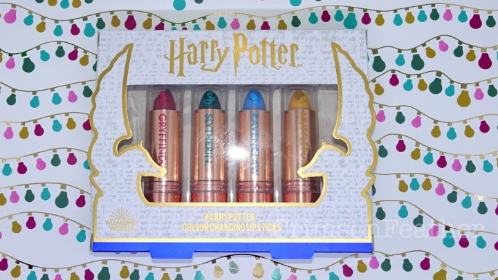 Wizarding World Harry Potter Colour Changing Lipsticks