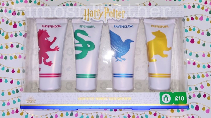 Wizarding World Harry Potter Hogwarts House Handcream