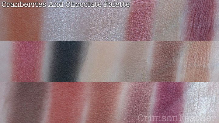 I-Heart-Revolution-Cranberries-And-Chocolate-Palette-Swatch